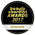 Beauty Shortlist Awards Winner 2017