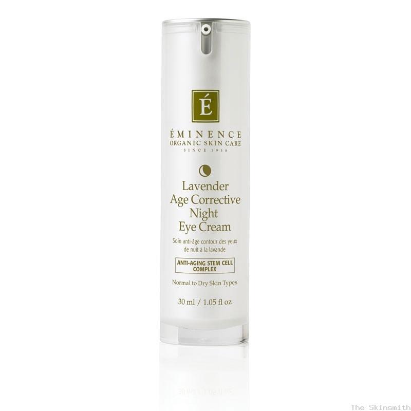 1275 Lavender Age Corrective Night Eye Cream Eminence Organic Skincare