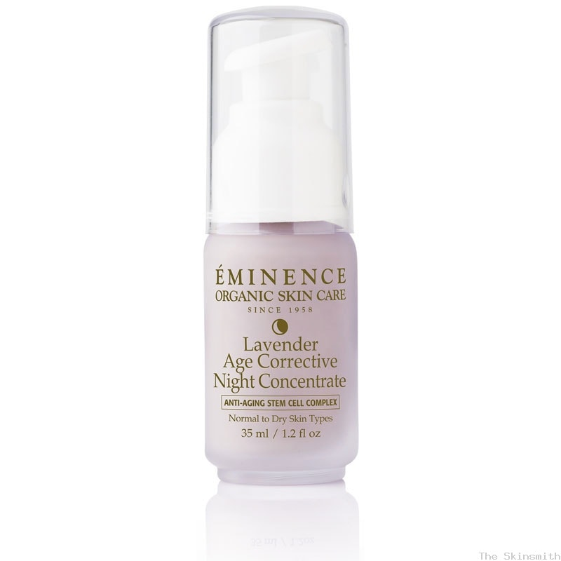 1277 01 Lavender Age Corrective Night Concentrate Eminence Organic Skincare