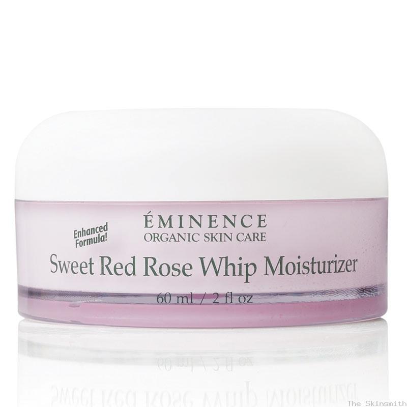 219 Sweet Red Rose Whip Moisturiser Eminence Organic Skincare