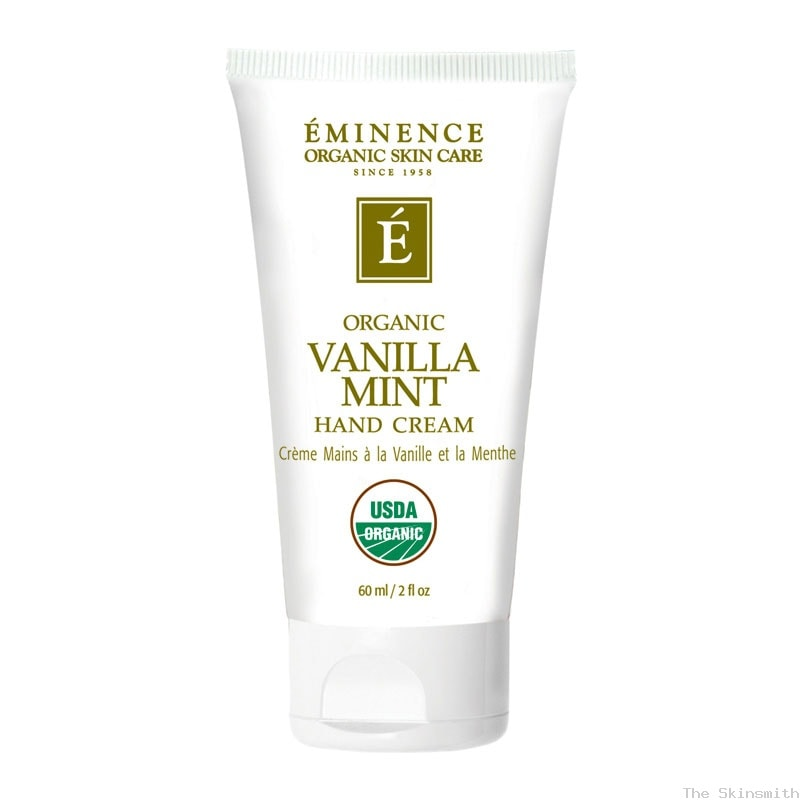 2228 Vanilla Mint Hand Cream Eminence Organic Skincare