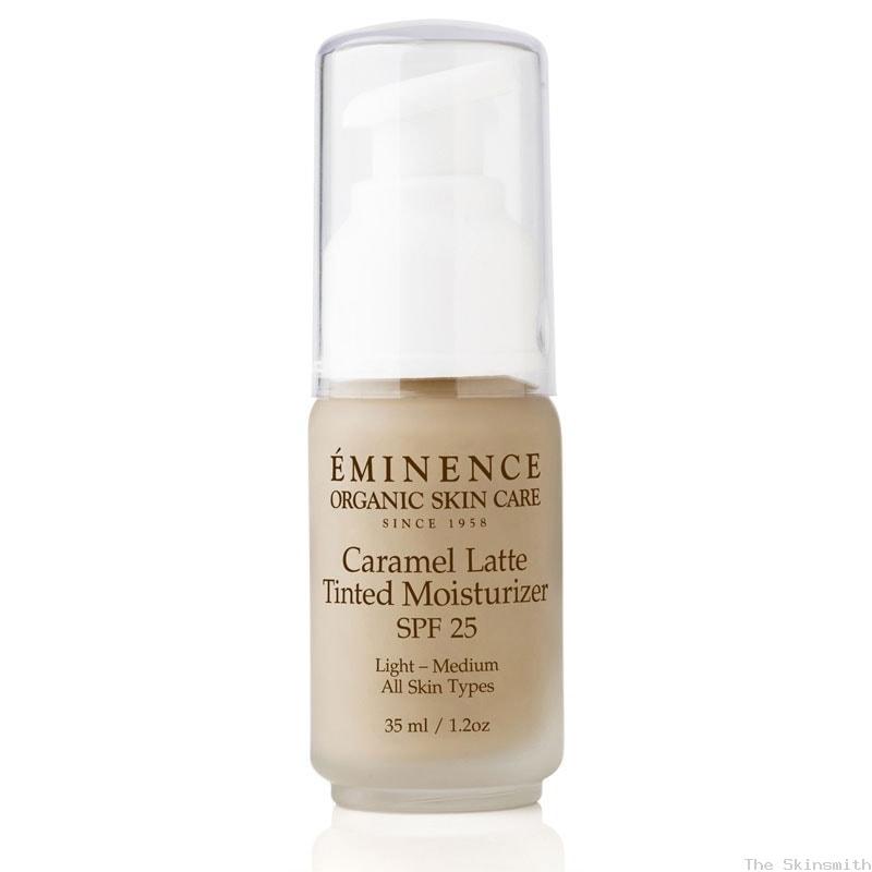 2235 Caramel Latte Tinted Moisturiser SPF25 Eminence Organic Skincare