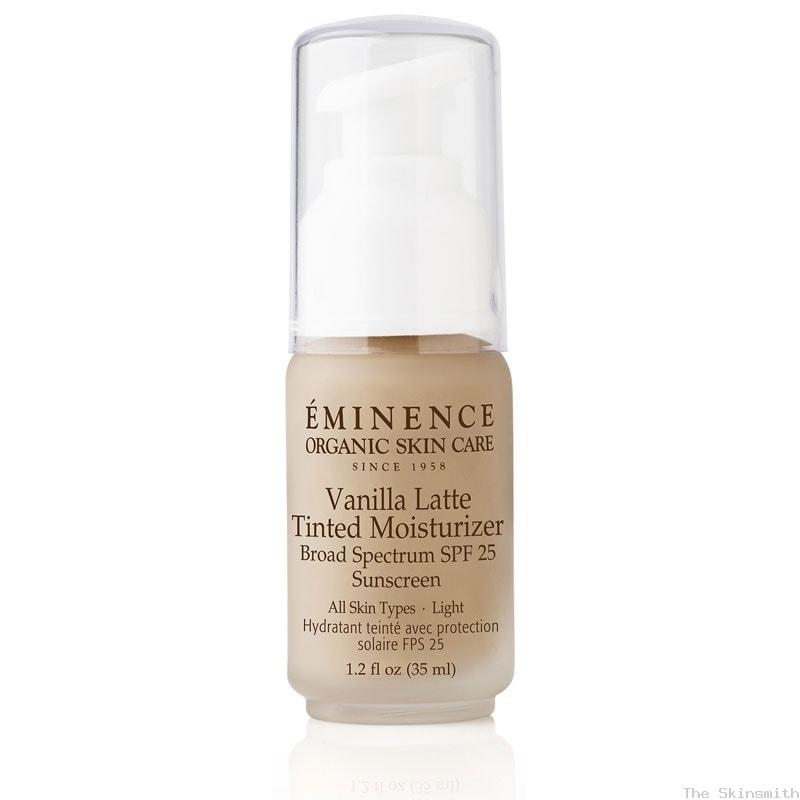 2259 Vanilla Latte Tinted Moisturiser SPF25 Eminence Organic Skincare
