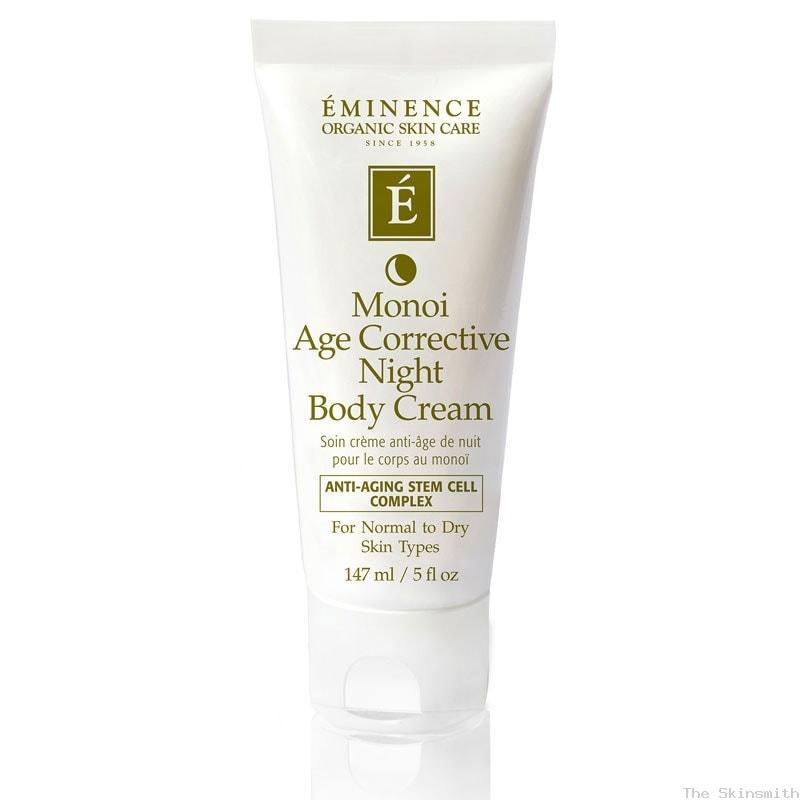 2274 Monoi Age Corrective Night Body Cream Eminence Organic Skincare