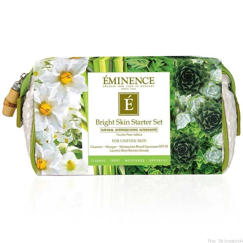 919brt Bright Skin Starter Set Eminence Organic Skincare