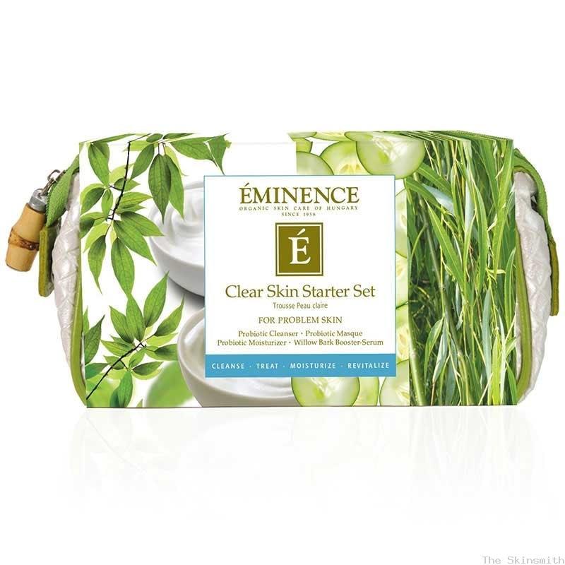 919clr 01 Clear Skin Starter Set Eminence Organic Skincare