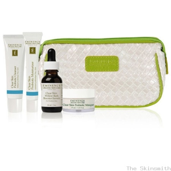 919clr 02 Clear Skin Starter Set Eminence Organic Skincare
