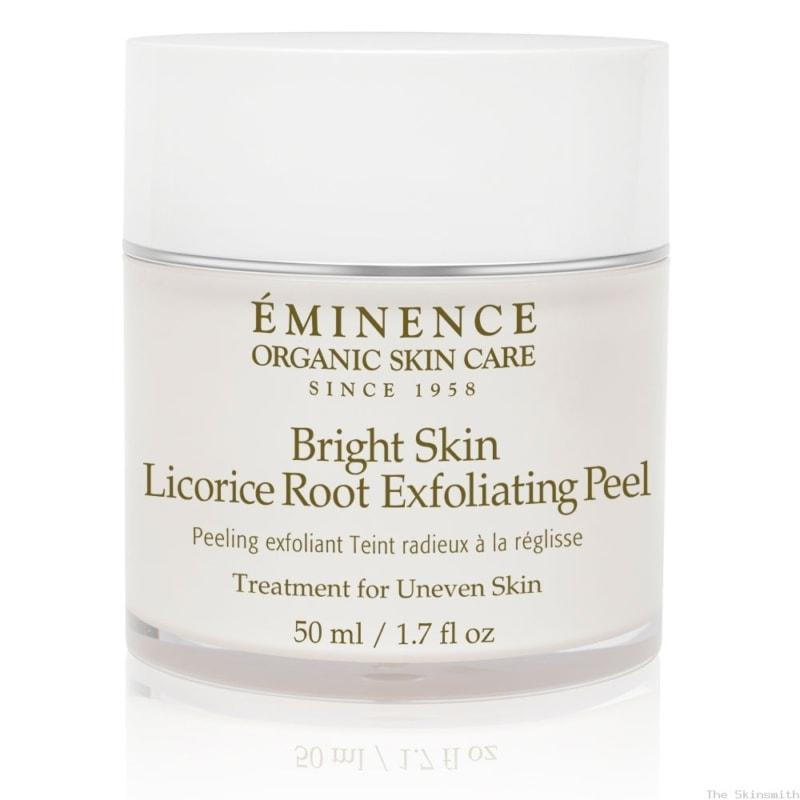 919epbrt Bright Skin Licorice Root Exfoliating Peel Eminence Organic Skincare
