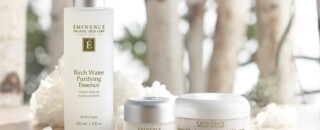 Pure Forest Group Shot with forest Introducing New Pure Forest Collection Eminence Organic Skincare