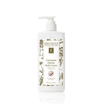 cinnamon paprika body lotion 0 Home Eminence Organic Skincare