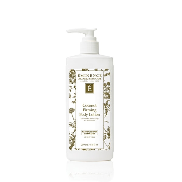 coconut firming body lotion 0 Coconut Firming Body Lotion Eminence Organic Skincare