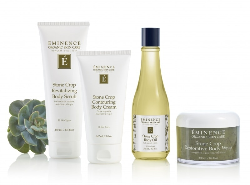 eminence organics stone crop body collection v2 800x593 1 Skin(care) Doesn't Stop at Your Chin Eminence Organic Skincare