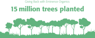fff thank you vac v3 15 million 670x392 1 We've Planted 17,000,000 Trees! Eminence Organic Skincare