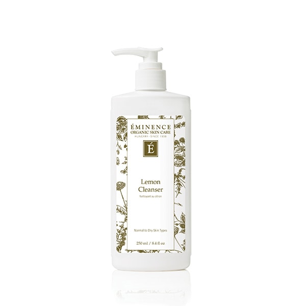 lemon cleanser Lemon Cleanser Eminence Organic Skincare