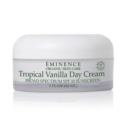 tropicalvanilladaycream keyimage2015 Tropical Vanilla Day Cream SPF32 Eminence Organic Skincare