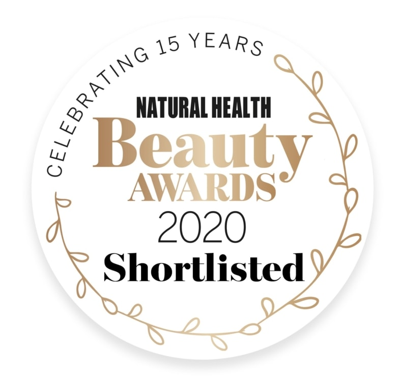 NH Beauty Award logo Shortlisted Stone Crop Body Oil Eminence Organic Skincare