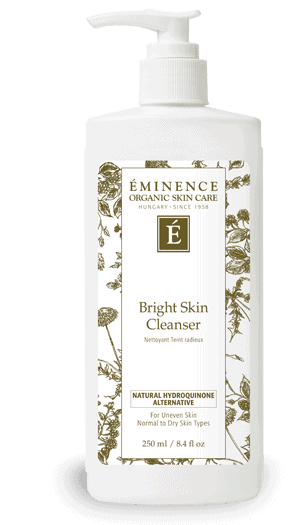 bright skin cleanser Home Eminence Organic Skincare