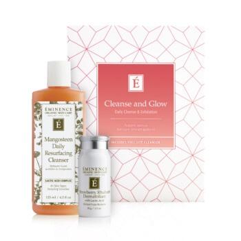 eminence organics cleanseglow box products Home Eminence Organic Skincare