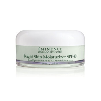 Eminence Organics Bright Skin Moisturizer Spf40 2oz