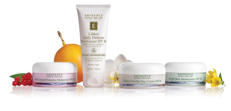 eminence organics mineral spf moisturizer collection rgb scaled Redcurrant Protective Moisturiser SPF 40 Eminence Organic Skincare